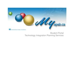 Student Portal Technology Integration Planning Services