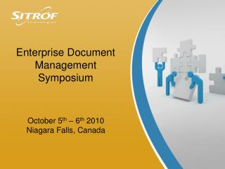 Enterprise Document Management Symposium