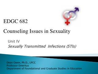 Unit IV Sexually Transmitted  Infections (STIs)