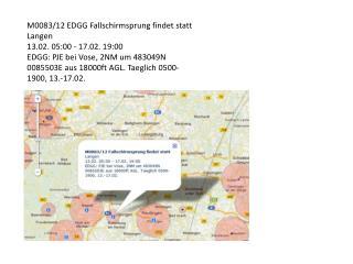 M0083/12 EDGG Fallschirmsprung findet statt