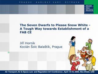 The Seven Dwarfs to Please Snow White – A Tough Way towards Establishment of a FAB CE