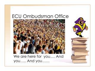 ECU Ombudsman Office