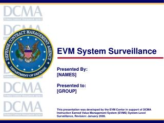 EVM System Surveillance  Presented By: [NAMES] Presented to: [GROUP]
