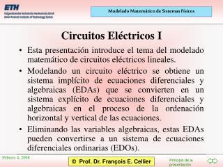 Circuitos Eléctricos I