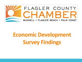 Economic  Development Survey  Findings
