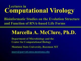 Computational Virology