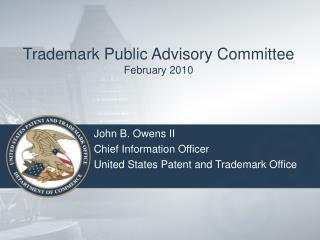 Trademark Public Advisory Committee February 2010
