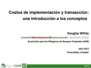Costos de implementación y  transacción: una introducción a los conceptos