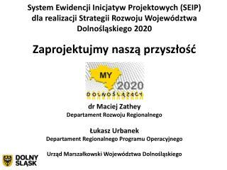 System Ewidencji Inicjatyw Projektowych