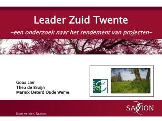 Leader Zuid Twente