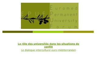 Le rôle des universités dans les situations de conflit