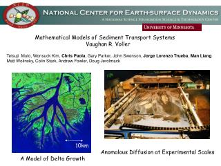Mathematical Models of Sediment Transport Systems