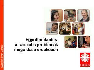 Egy üttműködés  a szociális problémák megoldása érdekében
