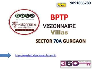 "Bptp Group-""9891856789"" Visionnaire VILLAS Project Launch"