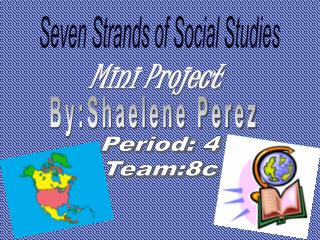 Seven Strands of Social Studies