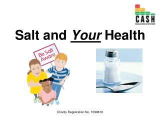 Salt and  Your  Health