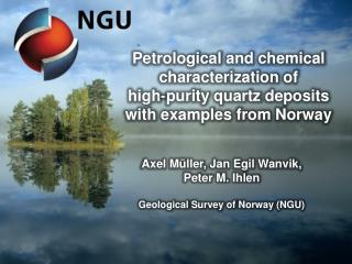 Petrological  and  chemical characterization of high-purity quartz deposits