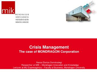 The Mondragon Cooperative Experience