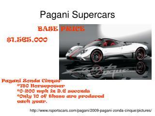 Pagani Supercars