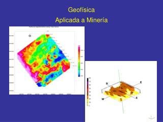 Geof�sica Aplicada a Miner�a