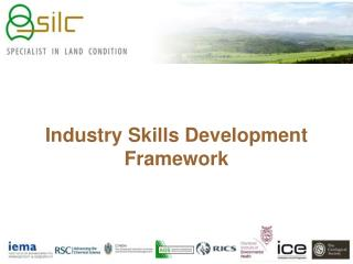 Industry Skills Development Framework