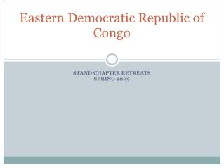 Eastern Democratic Republic of Congo