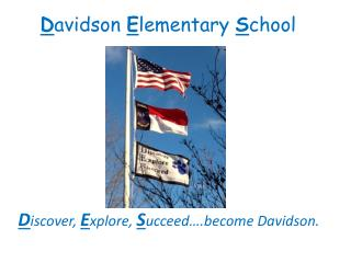 D avidson  E lementary  S chool