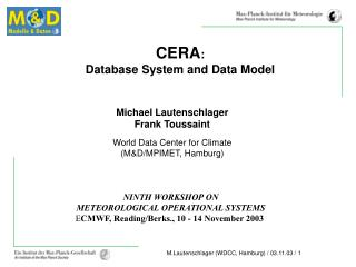 CERA : Database System and Data Model