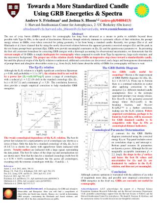 Towards a More Standardized Candle  Using GRB Energetics & Spectra