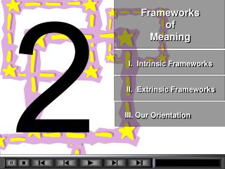 Frameworks  of  Meaning