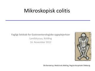 Mikroskopisk colitis