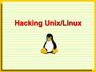 Hacking Unix