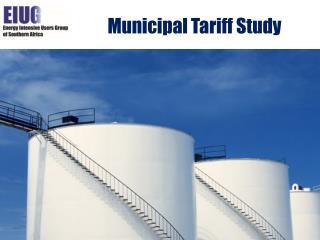 Municipal Tariff Study