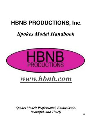 HBNB PRODUCTIONS, Inc.