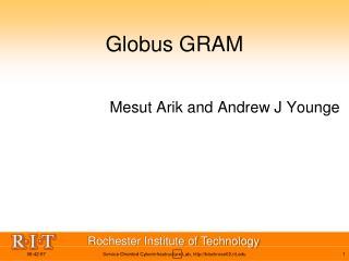 Globus GRAM