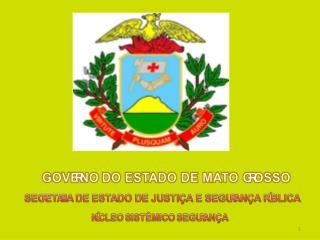 PLANO ESTADUAL DE DESENVOLVIMENTO MT+20