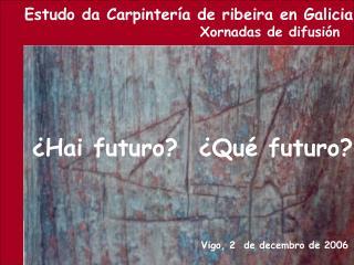 Vigo, 2  de decembro de 2006