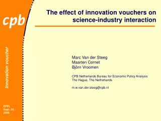 The effect of innovation vouchers on science-industry interaction