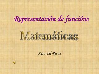 Representación de funcións