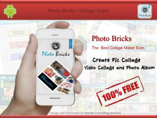PhotoBricks - Grid Collage and Share App