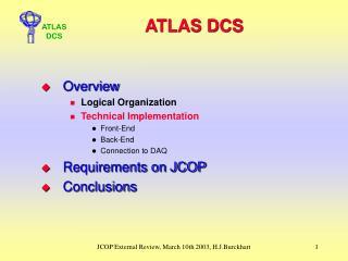 ATLAS DCS