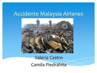 Accidente Malaysia  Airlanes