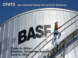 CFATS   Aka: Chemical Facility Anti-terrorism Standards