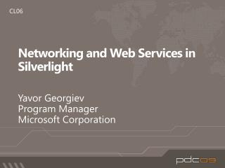 Networking and Web Services in Silverlight