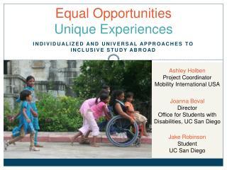 Equal Opportunities Unique Experiences