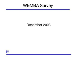 WEMBA Survey