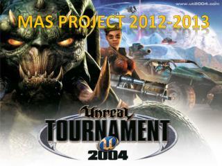 MAS Project 2012-2013