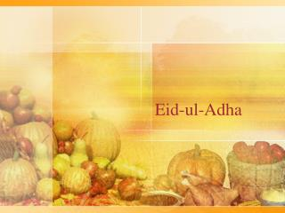 Eid -ul-Adha