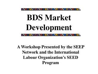 BDS Market Development