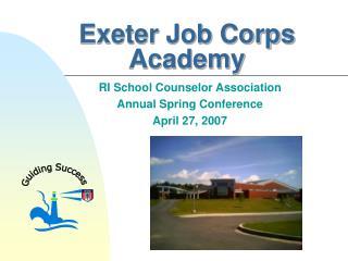 Exeter Job Corps Academy